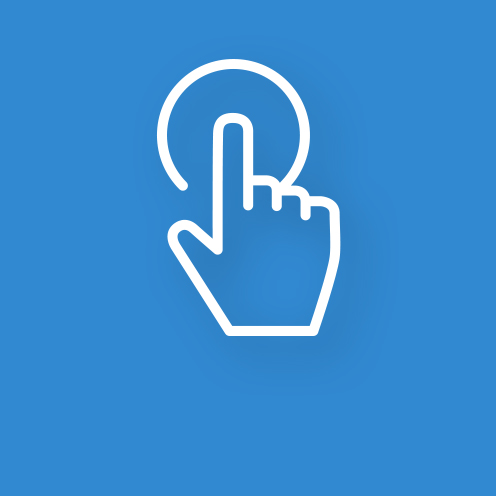 Finger on Touchpoint Icon